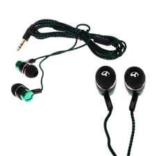 Subwoofer Hot Ear Headphone Earphone Roping MP3/Mp4 Stereo Earbud Metal 3.5mm
