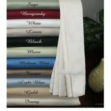 1000TC EGYPTIAN COTTON 1 PC BED SKIRT/VALANCE SOLID ALL COLOR AU SINGLE SIZE