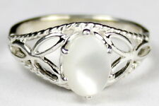 Mother of Pearl, 925 Sterling Silver Ring-Handmade, SR137