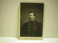 CDV Union Major General George Mc Clellan Civil War
