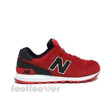 Scarpe New Balance ML574CND Classics Traditionnels Man Sneakers Casual Red Black