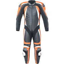 RST Motorbike Motorcycle Track 1 Piece Pro Series CPXC-2 Leather Suit - Flo Red
