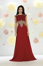 TheDressOutlet Mother of the Bride Long Formal Plus Size Evening Party Gown