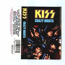 Crazy Nights by Kiss (Cassette, Sep-1990, Island/Mercury)