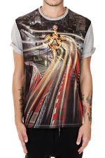 AntPITAGORA new men Short Sleeves printed T-shirt tee Authentic MADE IN ITALY