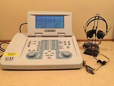 GSI 61 Clinical 2 Channel Audiometer Complete w/ Current Calibration Certificate