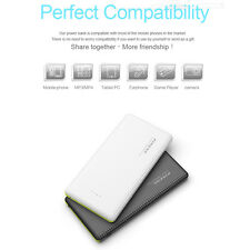 Portable 10000mAh Dual USB External Battery Power Bank Charger for Mobile Phone