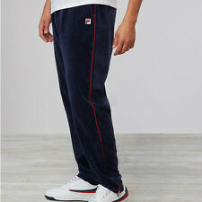 NEW Fila Men's Vintage Athletic piped velour pant LM171SQ8