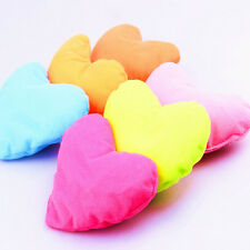 1PC Home Kids Bed Pink Heart-shaped Pillow Creative Plush Pet Dog Cat Toy bo