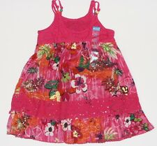 Childrens Place NEW Pink Floral Beaded Lace Sun Dress & Panty Girls Size 12M