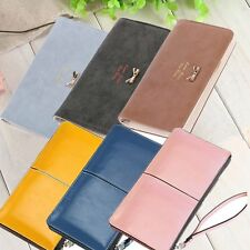 New Women Wallet Long Section Of PU Leather Ladies Handbags Leather Wallet GA