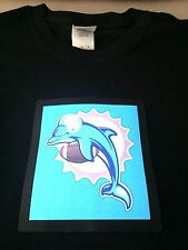 Dolphins LED Shirt NFL Sound-Activated Lights Up LED T-Shirt ALL SIZES Wireless