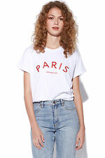 New STUSSY Womens Arch Cities Tee white