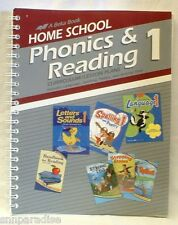A Beka Book Home School Phonics & Reading 1 Curriculum / Lesson Plans