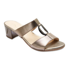 NEW Easy Steps Dream Pewter Metallic Sandals Women Shoes Wide Fit C-Fit