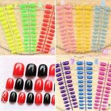 24 pieces of candy Manicure finished lovely color false nails short size 32 CH
