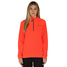 Dare2B Womens Freeze Dry Half Zip Fleece - Fiery Coral