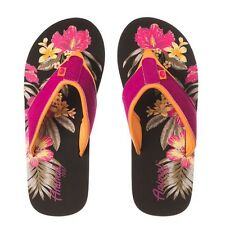 Animal Swish Placement Flip Flop Indian Berry Pink FM7SL310/T58 NEW
