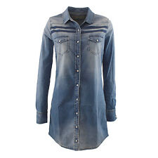 Roy Roger's GONNA JEANSDENIM Roy Rogers denim women long shirt