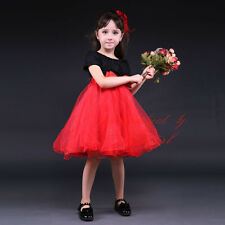 Girls Beading Sequins Embroidered Flower Bow Wedding Party Formal Pageant Dress