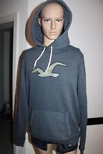 Hollister Mens Hoodie Sweater With Hoodie Sweater Blue all sizes new