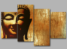 Buddha Paintings Wall Art Prints Split Extra Large 3&4&5 Panel Canvas Picture