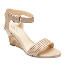 NEW Sandler Hayley Neutral Leather Heels Women Shoes