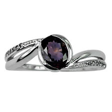 Brown Natural Zircon 925 Sterling Silver Right Hand 1.21 ctw Ring GSR646