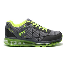 Australian Men's Shoes Trainers Gym Free Time article AU001 03 Grey Lime