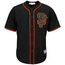 San Francisco Giants 2017 Cool Base Replica Alternate Black MLB Baseball Jersey