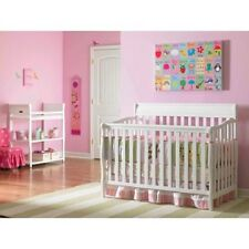 Graco 4in1 Convertible Fixed-Side Baby Classic Crib Nursery Furniture Free Ship