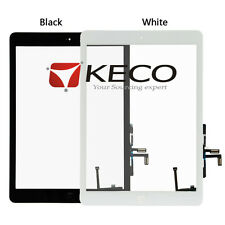 For iPad Air 1 iPad 5 Touch Screen Digitizer With IC Flex Connector Home Button