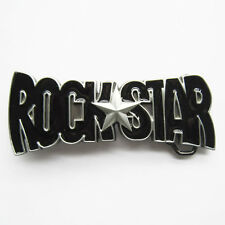Men Belt Buckle Rock Star Belt Buckle Gurtelschnalle Boucle de ceinture