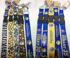 NBA Golden State Warriors keychain Lanyard - Pick Your Color!