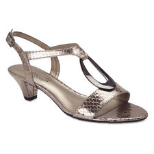 NEW Easy Steps Essence Pewter Snake Women Shoes Comfort Fit C-Fit