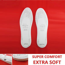 2 PC MEMORY FOAM INSOLES Support Foot Sport Shoes Trainers Space Age Insert Pain