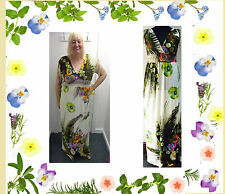 New Eden STATEMENT Summer Maxi Dress PLUS SIZE 18-28 yours LOOK evans be cruise