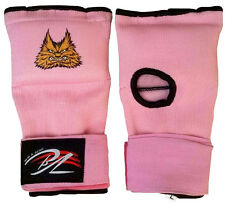 Ladies Gel Inner Hand Wraps Pink Gloves Boxing Fist  Bandages MMA