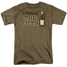 I PLEAD THE FIFTH (of Liquor) Adult T-Shirt All Sizes