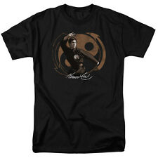 Bruce Lee JEET KUN DO PUSE Licensed Adult T-Shirt All Sizes