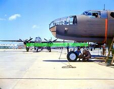 USAAF North American B-25 Mitchell Bomber Photo Military  Color WW2 Aircraft