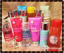BEAUTY RUSH by Victoria's Secret ~ALL! Body Lotion, Double Mist, Swirl, Shampoo!