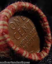 1909 VDB's BOTH Ends Collector Roll mixed Lincoln Wheat Indian Head Cent Pennies