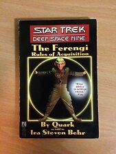 """The Ferengi : """" Rules Of Acquisition """" : (""""Star Trek: Deep Space"""