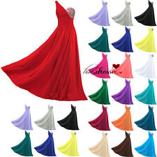 STOCK Cheap Formal Prom Ball Party Evening Gowns Wedding Bridesmaid Dresses 6-20