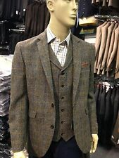 GENUINE HARRIS TWEED - SUMBURGH TAILORED FIT JACKET /  WAISTCOAT