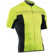 Northwave Evolution Cycling Jersey Black Yellow