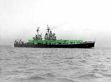 USN USS Canberra CA-70 Black n White Photo Military CA 70 Cruiser CA 70 WW2