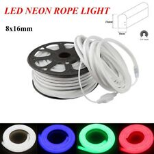 50' ft LED Flex Neon Rope Tube Light Christmas Holiday Party Home Indoor Outdoor