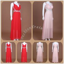 Fashion Women Formal Evening Prom Party Bridesmaid Long Ball Gown Cocktail Dress